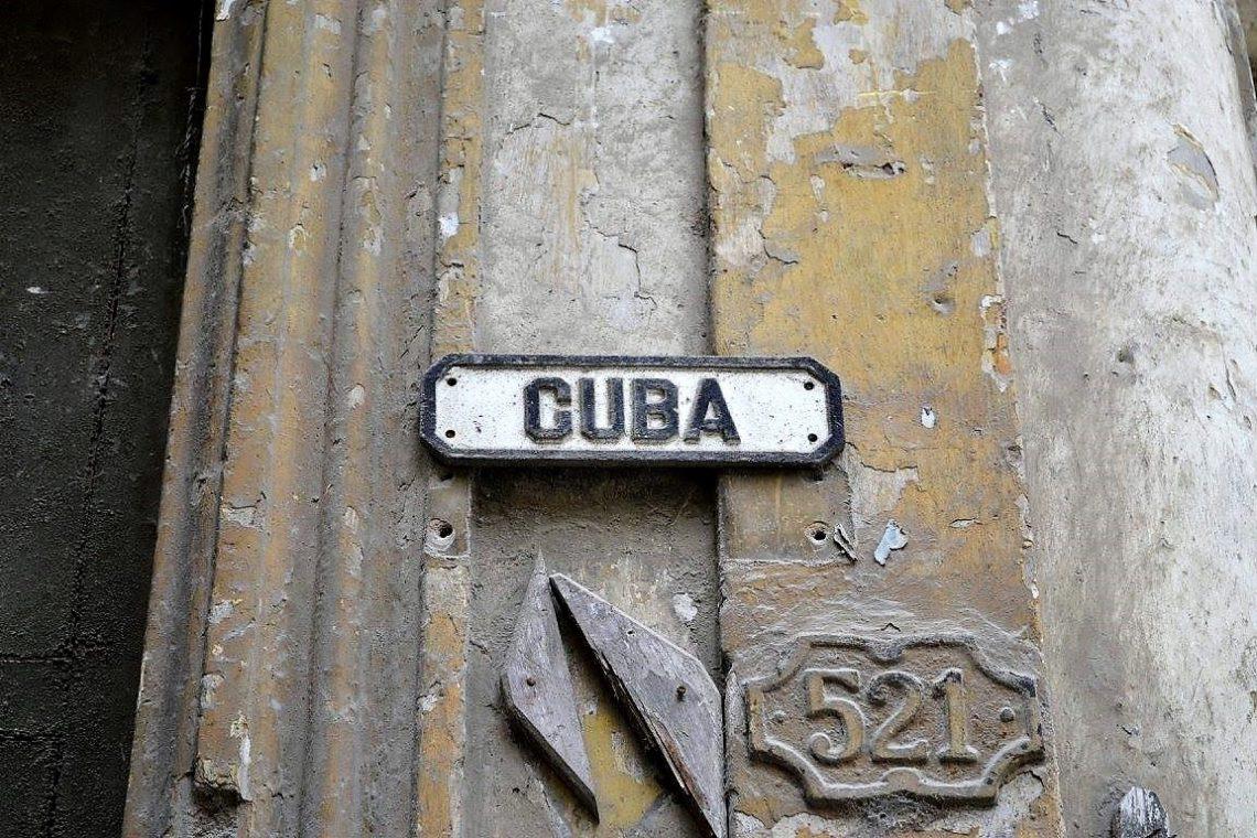 Cuba - calle Cuba