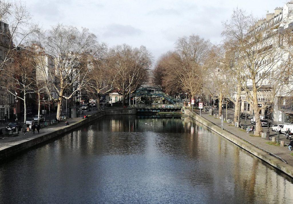 Il canale Saint Martin
