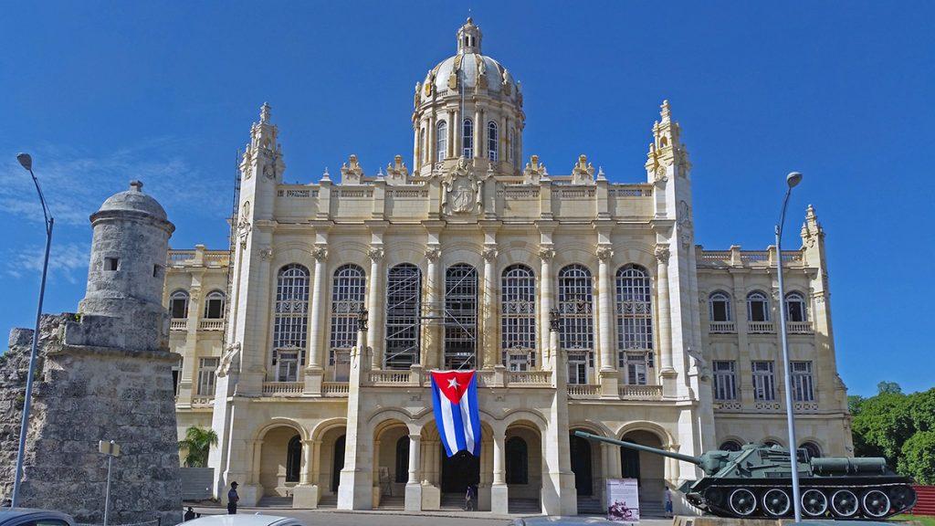 Tre settimane a Cuba, Museo della Rivoluzione a L'Avana