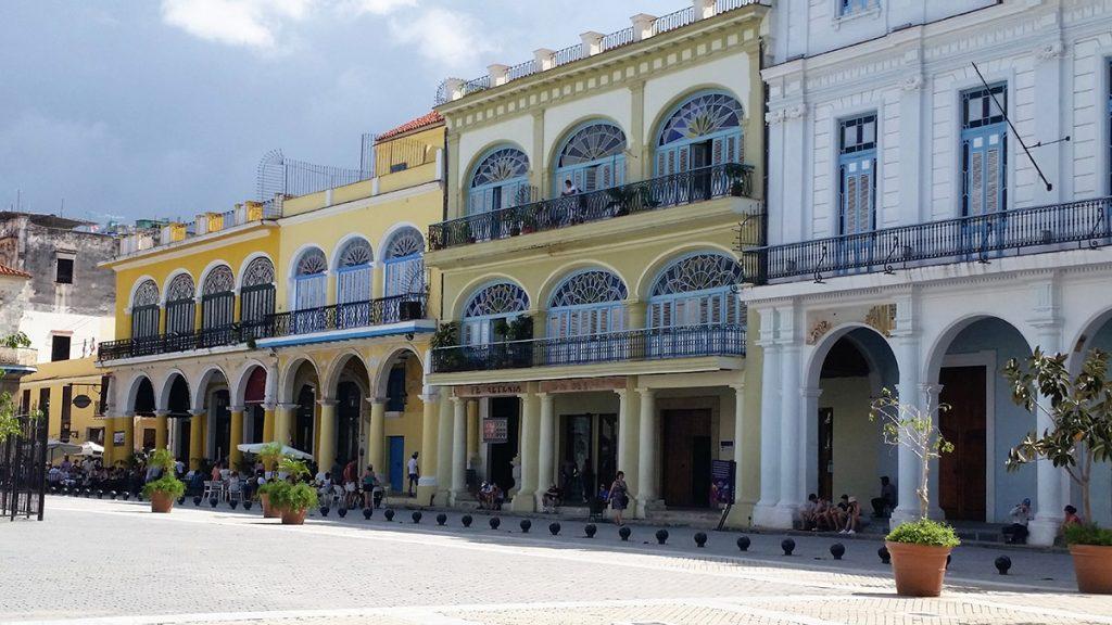 3 settimane a Cuba, Plaza Vieja a L'Avana