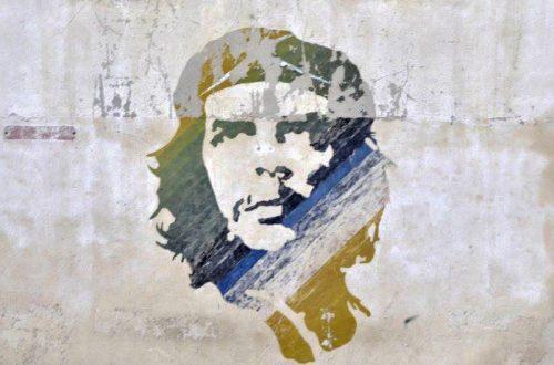 Graffito Che Guevara