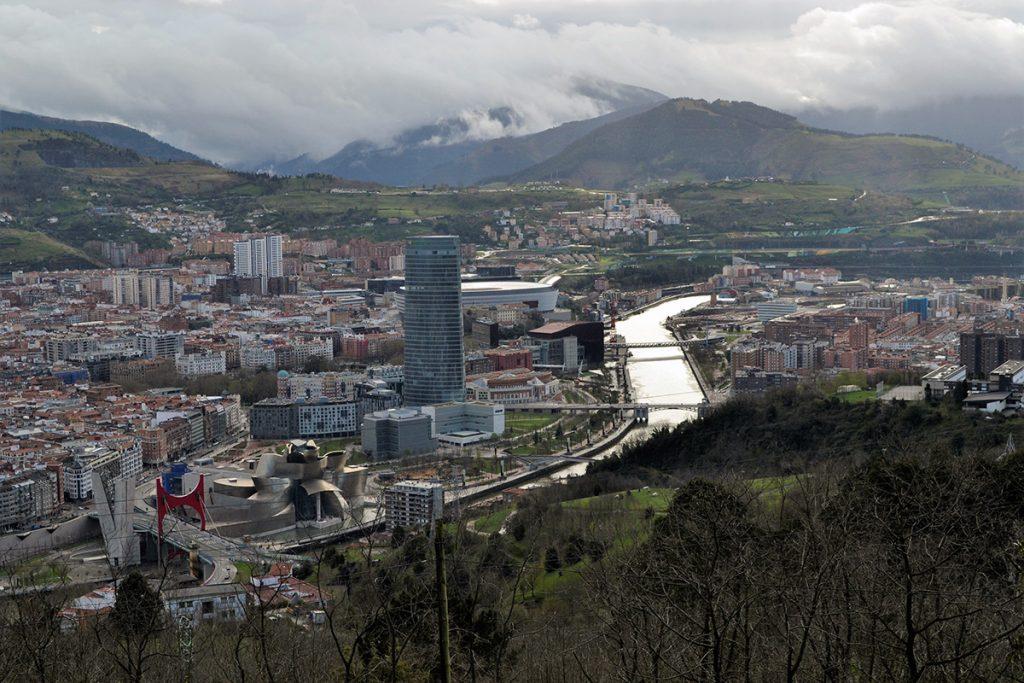 Panorama di Bilbao