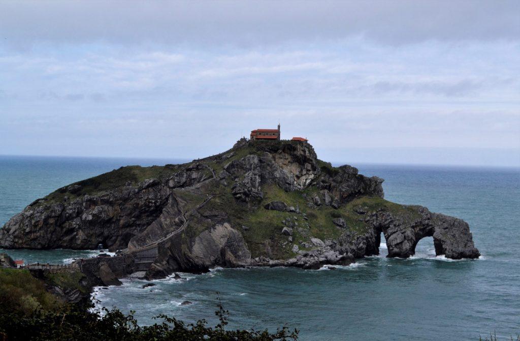 Isola di San Juan de Gaztelugatxe nei Paesi Baschi