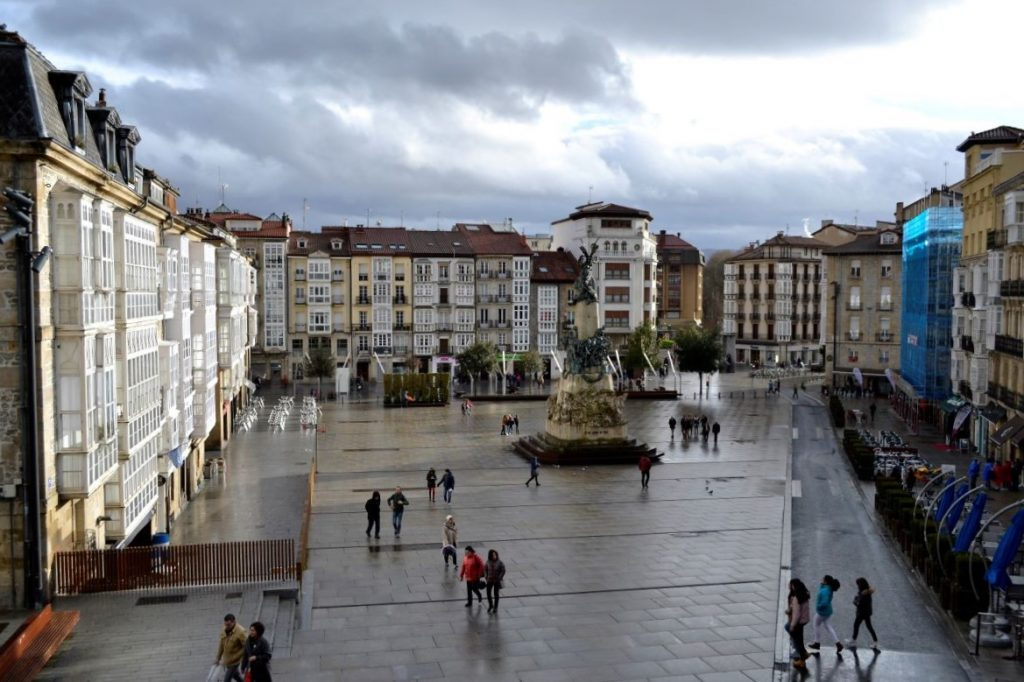 Plaza de la Virgen, Vitoria