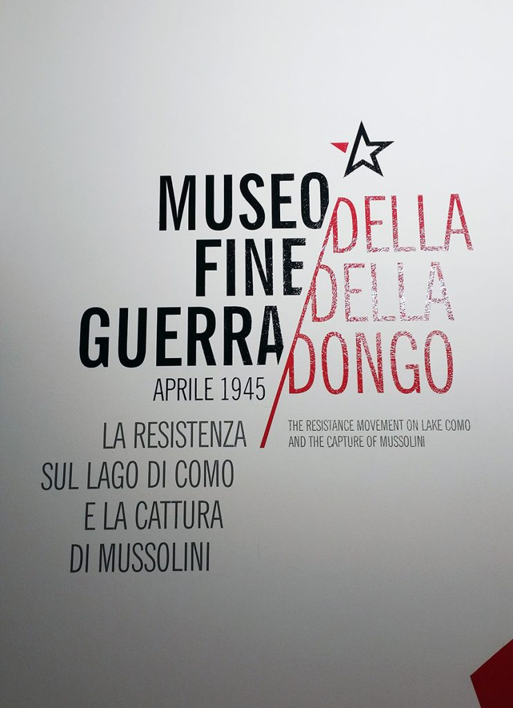 Museo della fine della Guerra, Dongo