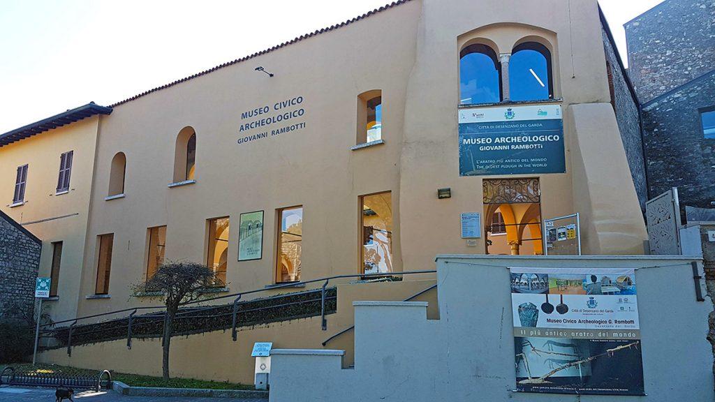 Edificio che ospita il Museo Civico Archeologico