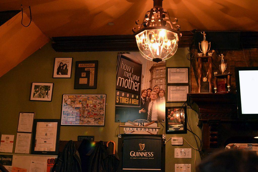 Interno di Pub - New York