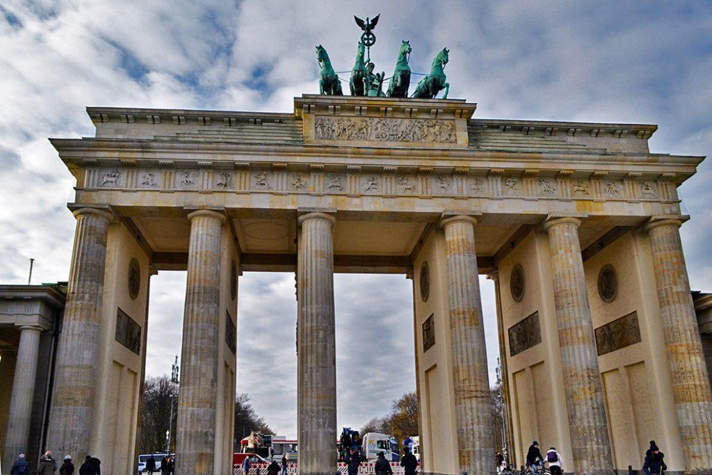 Itinerari di Berlino: Porta di Brandeburgo