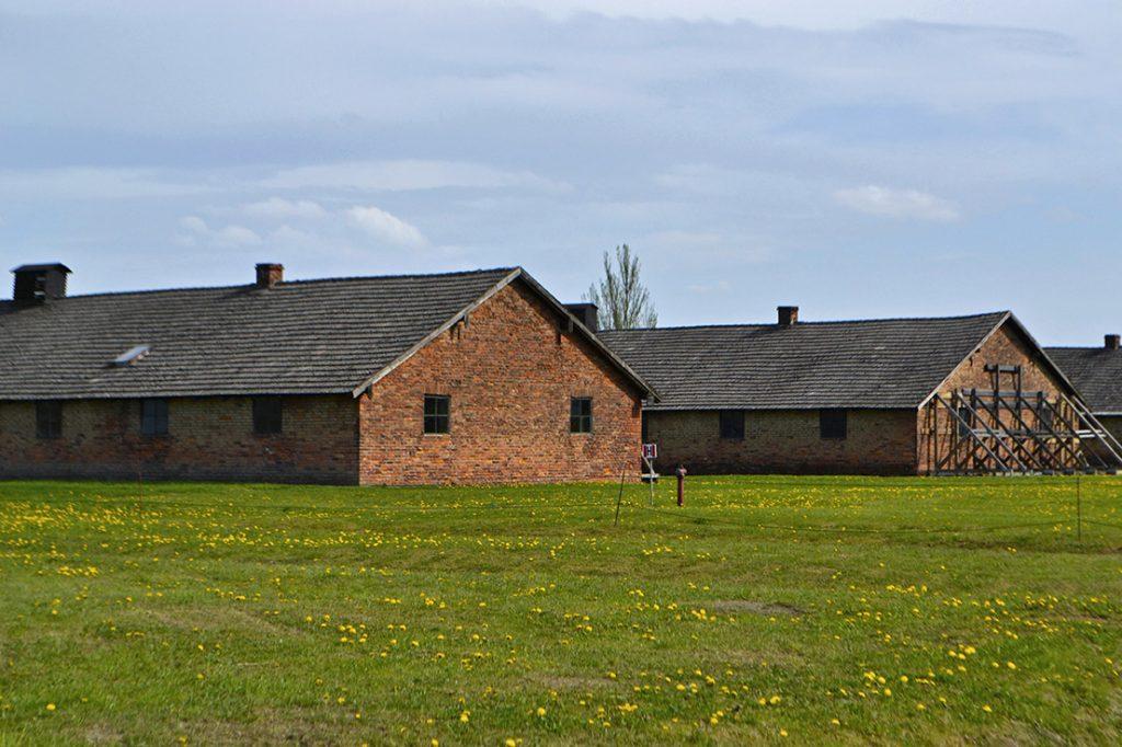 Baracche nel campo di Auschwitz II - Birkenau