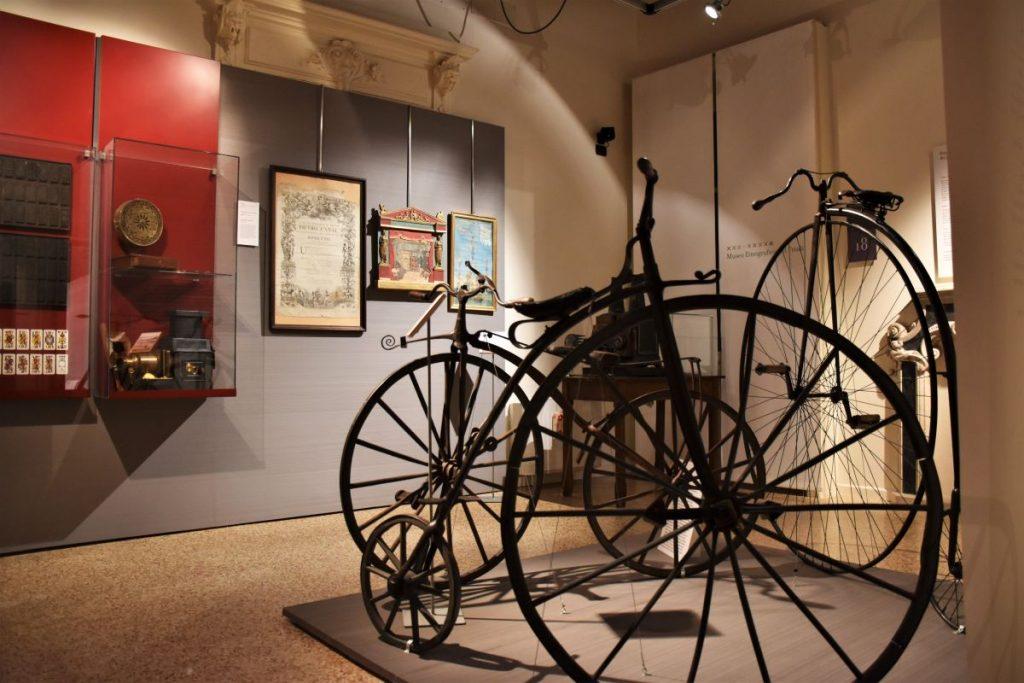 Udine, Museo Etnografico, biciclette